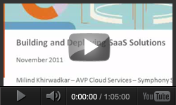 Building and Deploying SaaS Applications