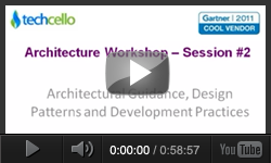 Architectural guidance, Design Patterns and Development Practices - Session 02