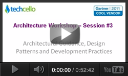 Architectural guidance, Design Patterns and Development Practices - Session 03